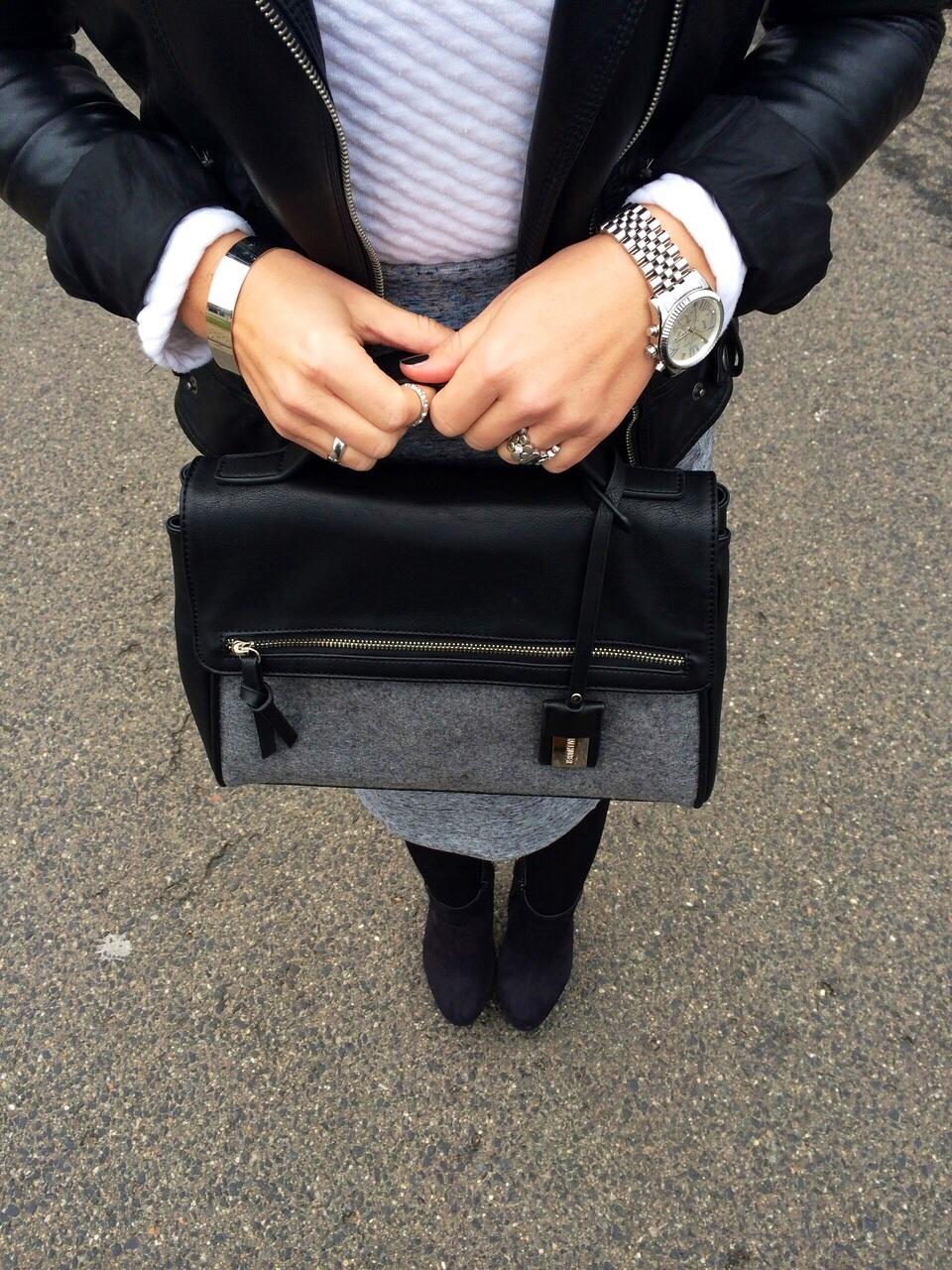 Fashioncircuz by Jenny foto-5-2 Grey Pencil Skirt