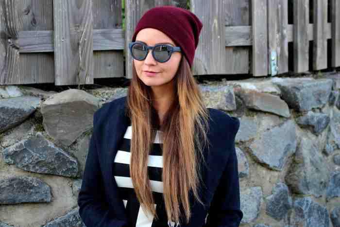 Fashioncircuz by Jenny jenny-stripes IM STREIFENKLEID DURCH DEN HERBST