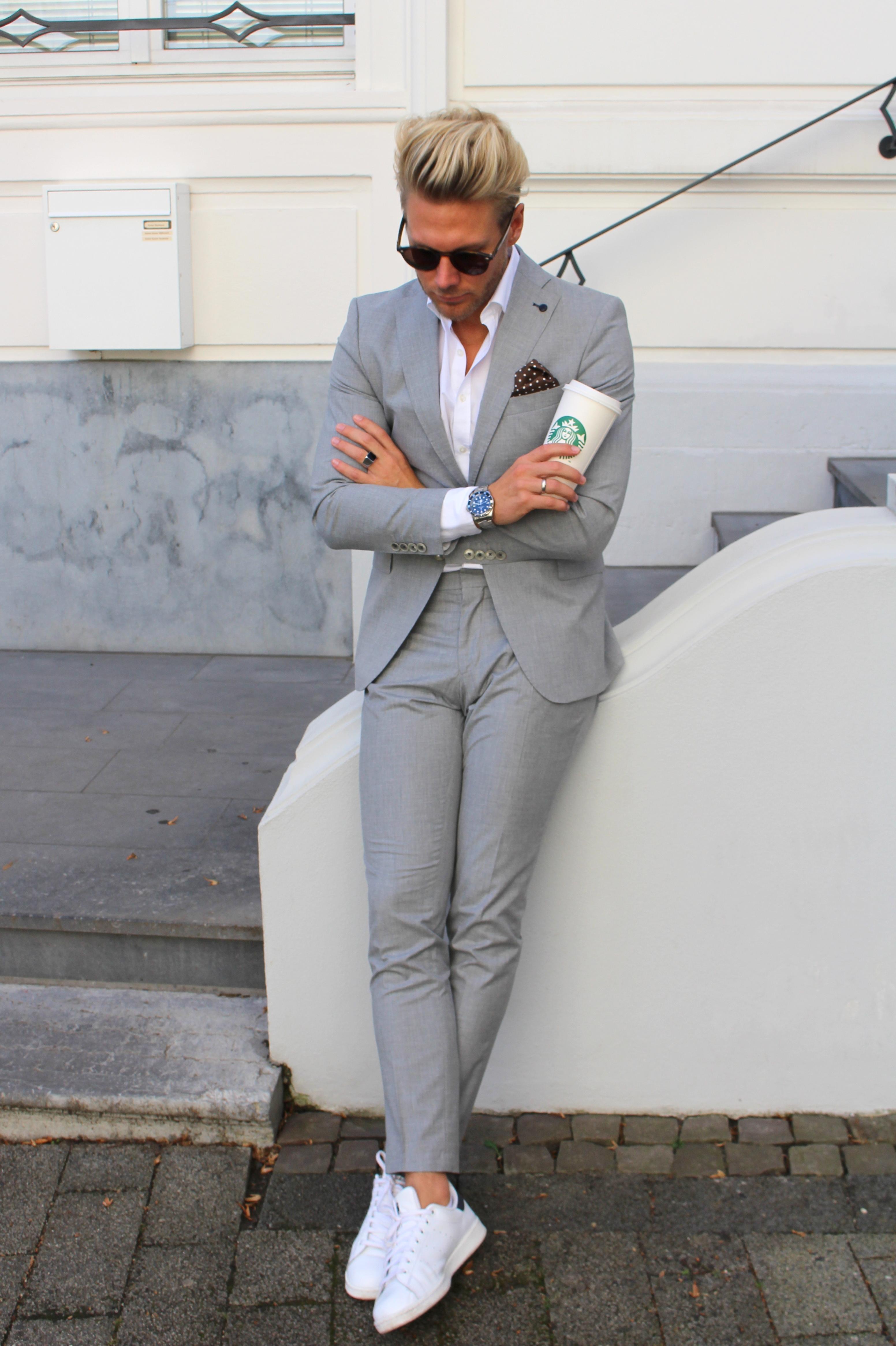 Fashioncircuz by Jenny anzug-zu-sneakers2 {MENSTYLE} PIMP DEINEN BASIC LOOK MIT OPTISCHEN HIGHLIGHTS