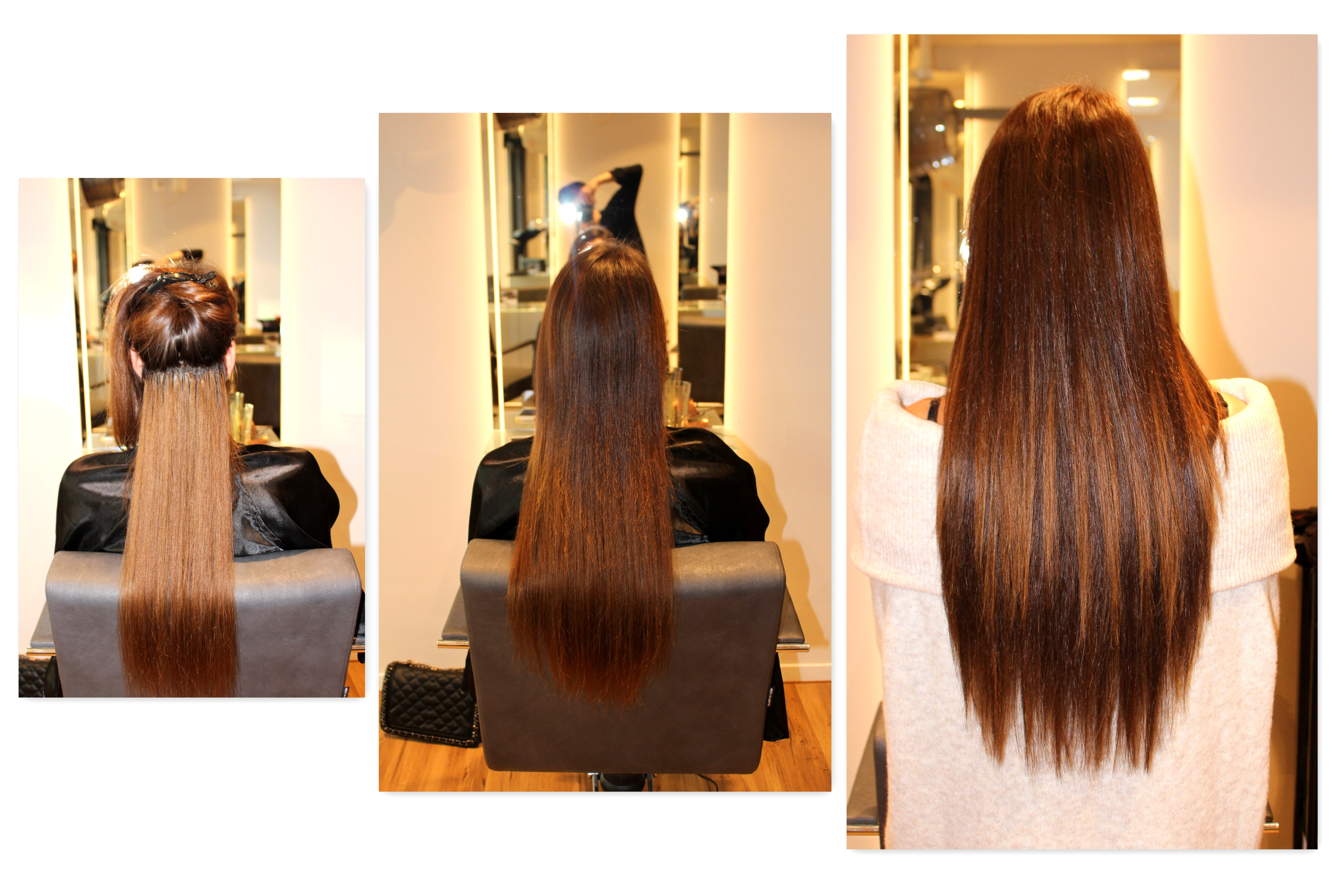Fashioncircuz by Jenny ext-collage ICH HABE ES WIEDER GETAN - MY NEW EXTENSIONS